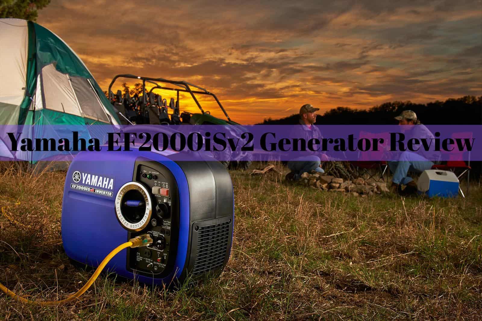 Yamaha EF2000iSv2 Portable Generator Review - EnstorageInc