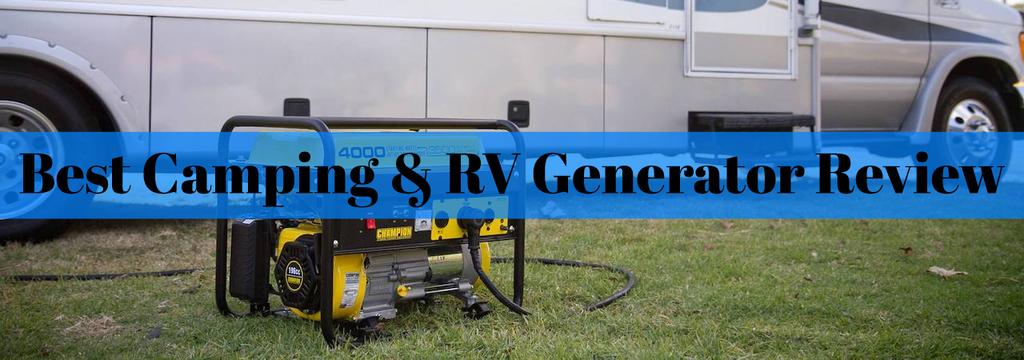 Best Camping & RV Generator Review - EnstorageInc