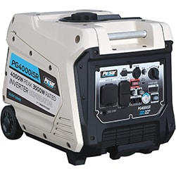 pulsar 4,000w portable gas-powered quiet inverter