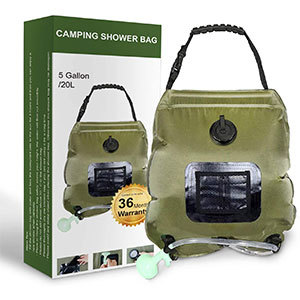 camping showers