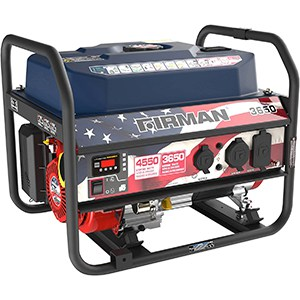 firman dual fuel generator